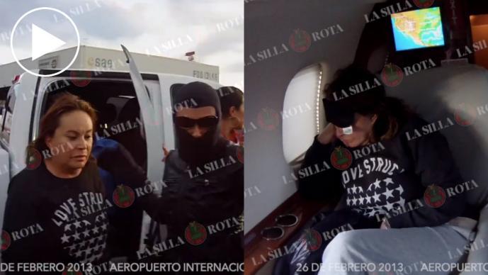 Video Detención Elba Esther Gordillo PGR
