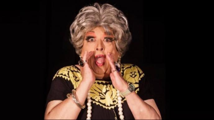 Muere 'Mamá Mela', personaje del programa 'Desde Gayola' con Horacio Villalobos
