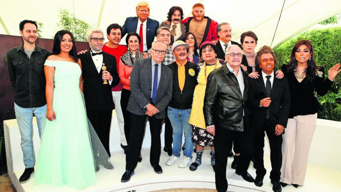 Elenco La Parodia Yalitza Aparicio Alfonso Cuarón