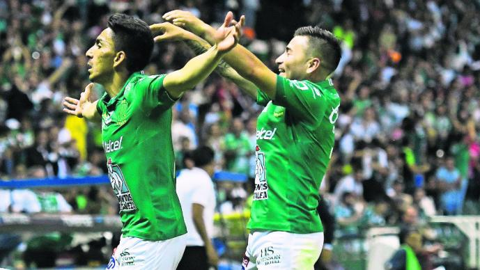 Ángel Mena juego partido León Santos Clausura 2019