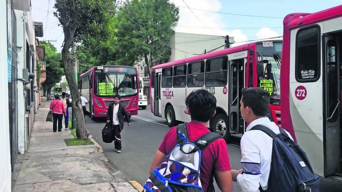 Pasajeros Transporte público Aumento Tarifas Ilegal