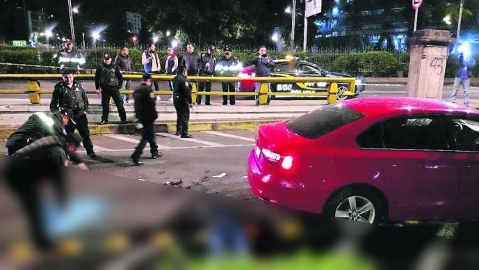 Doble asesinato Paseo de la Reforma Estela de Luz CDMX