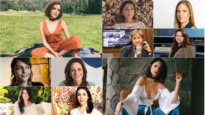 mujeres destacadas mexicanas día internacional de la mujer Eiza González Martha Debayle Yuya Carmen Aristegui líderes emprendedoras