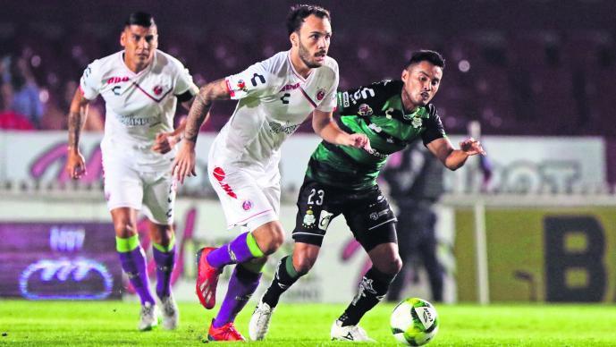 Sellan empate Veracruz y Santos en el Puerto