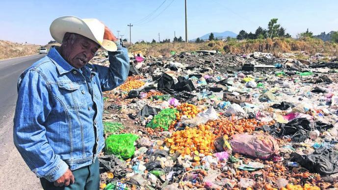 Basureros Clandestinos Toluca-Ixtlahuaca Afecta cultivos