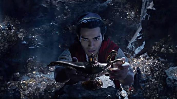 Disney trailer póster Aladdin live action