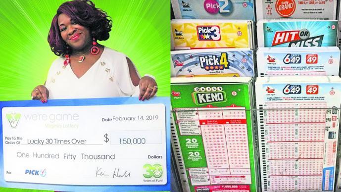 Así fue como ganó la lotería 30 veces el mismo día