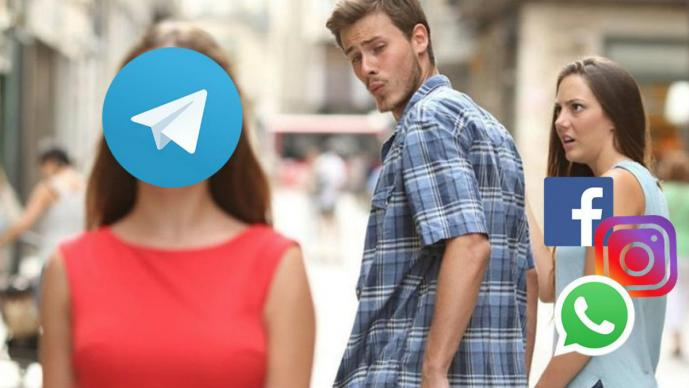 Qué es Telegram plataforma mensajería