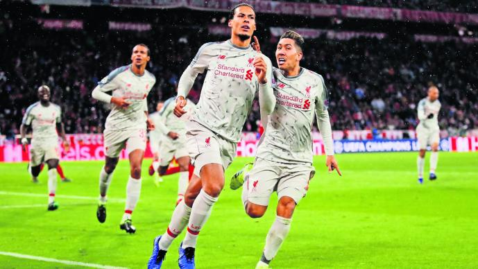 Champions League Liverpool Bayern Sadio Mané