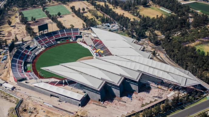 Inauguración Estadio Harp Helú Diablos del México