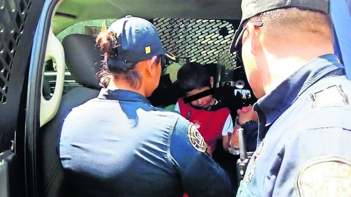 Rescatan Niño Encadenado Torturado Tlalpan CDMX