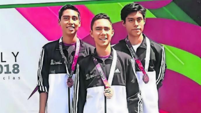 Selección juvenil tiro deportivo Olimpiada Nacional 2019