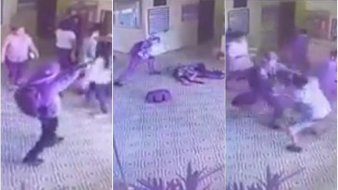 Revelan sangrientas imágenes del tiroteo en escuela de Sao Paulo