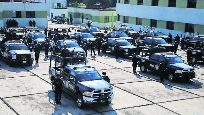 La Comisión Nacional de Seguridad envió 200 elementos a Morelos