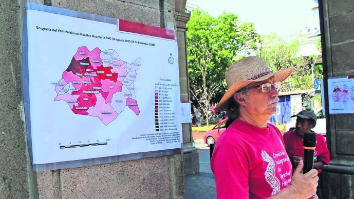 Presentan mapa feminicidios Morelos