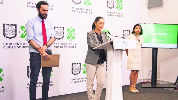 Sanciones infracciones fotocívicas CDMX