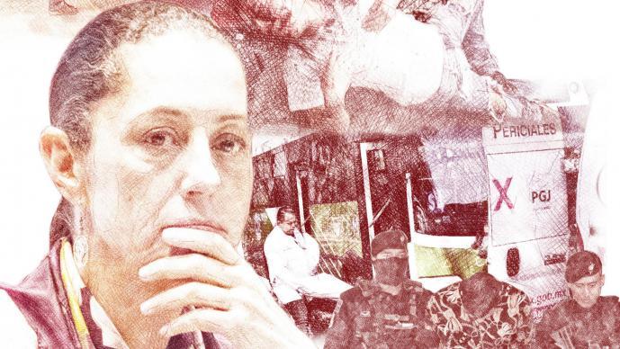 Inseguridad Gobierno de CDMX Claudia Sheinbaum Crimen organizado