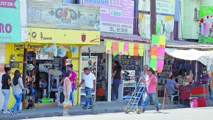Extorsión de colombianos Comerciantes CDMX