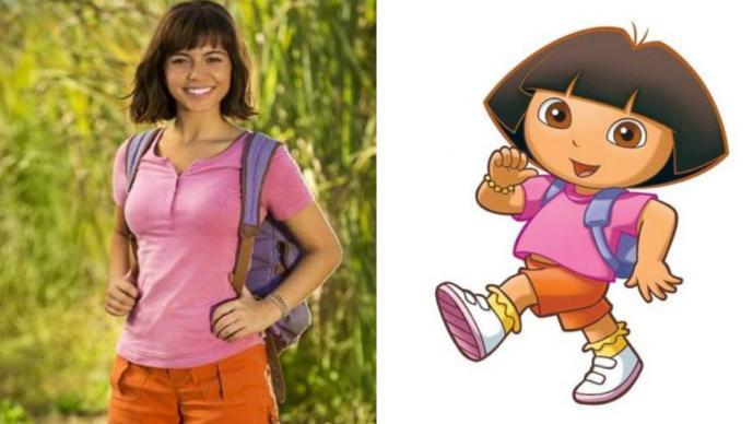 El live-action de Dora la Exploradora se presenta con dos pósters