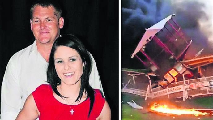 Discutió con su esposa, robó una avioneta y se estrelló para matarla