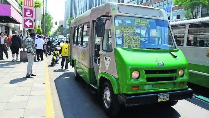 Claudia Sheinbaum Microbuses Transporte público GPS Vigilancia Seguridad CDMX