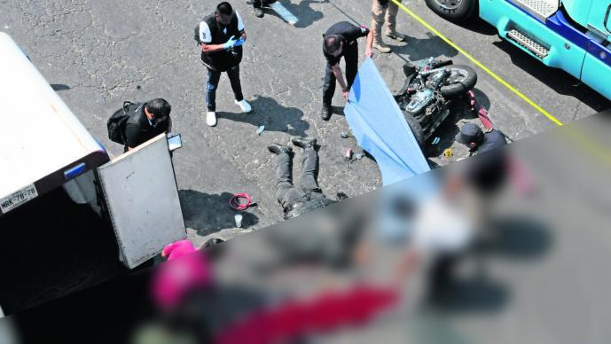 Muere motociclista Embestida Metepec Edoméx Rodada en Malinalco
