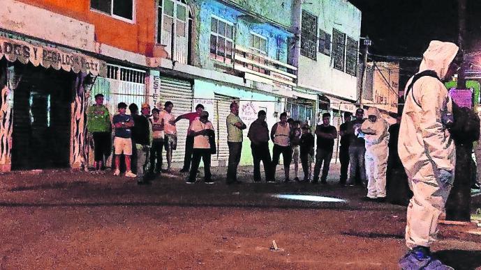 Ejecutan delegado Morelos Disparan a quemarropa Toma de protesta