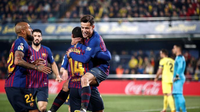 Espectacular remontada del Barcelona ante el Villarreal