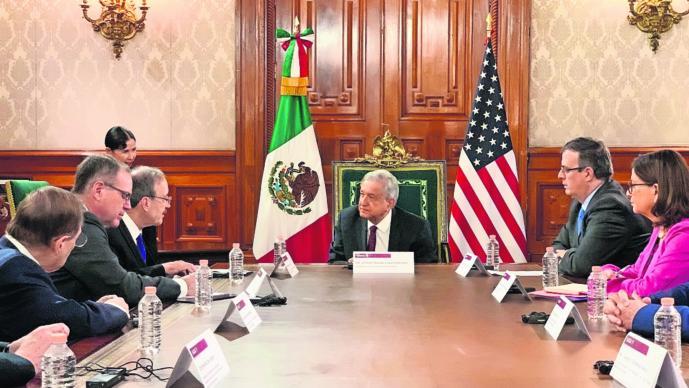 México EU mantienen relaciones cordiales pacíficas