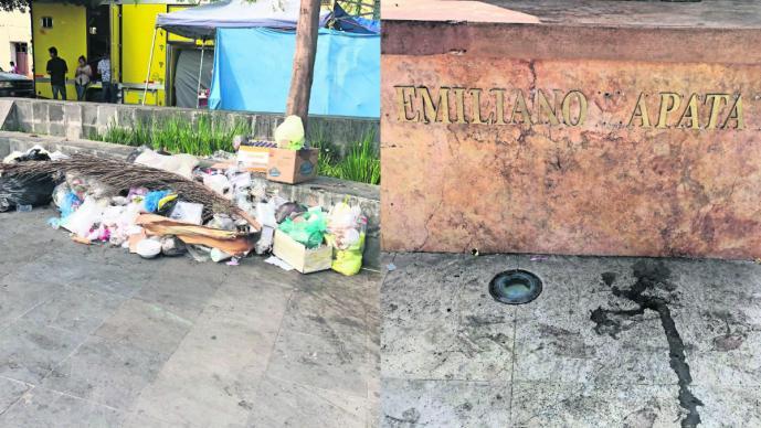 Morelos Tumba general Emiliano Zapata