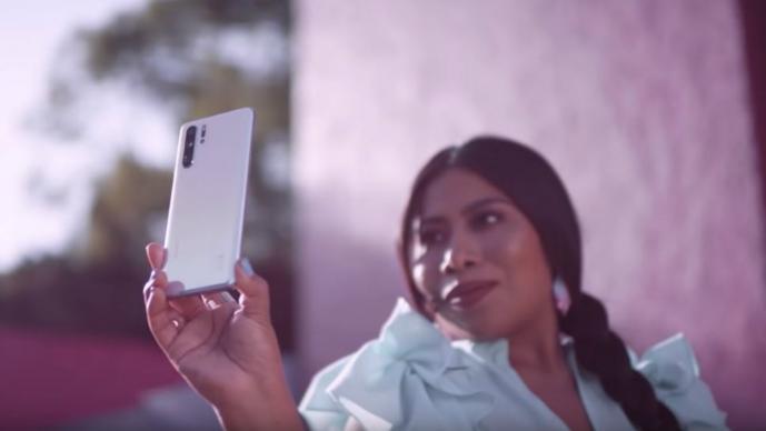 yalitza aparicio Huawei oaxaqueña oscar roma