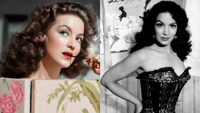María Félix mexicana mujer más bella del mundo la Doña actriz