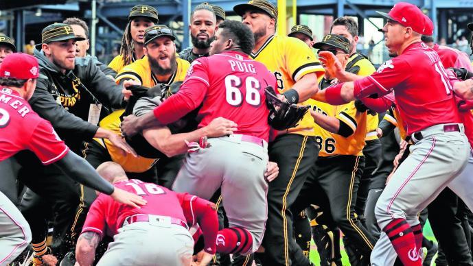 MLB suspende cinco juegos a Archer y dos a Puig tras trifulca