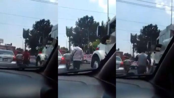 Graban sujetos armados calles Ciudad de México