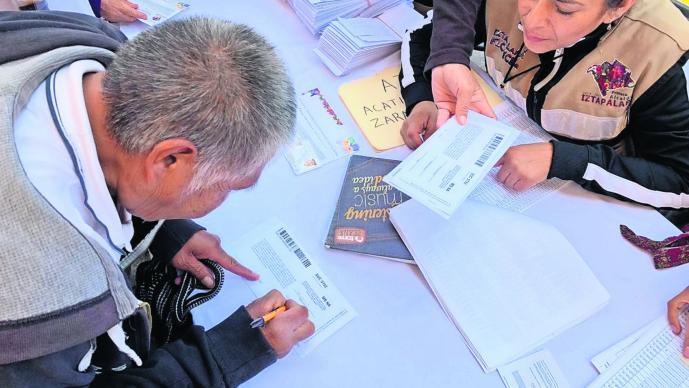 Programa social Adultos mayores Pensión CDMX Morena