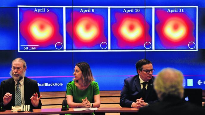 Fotografía agujero negro UNAM Conacyt Presumen participación