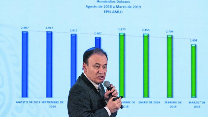 Aumentan a 45 las regiones inseguras en México