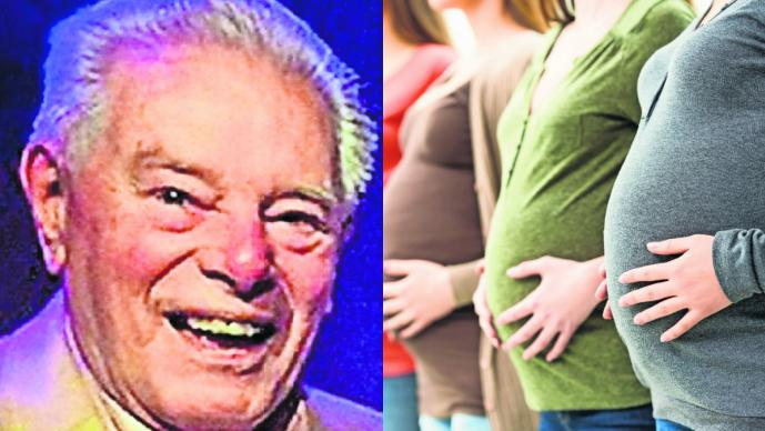 con su propio esperma madres de 49 personas