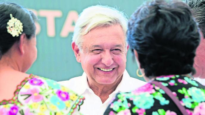 AMLO Gira por Campeche Abrogación de reforma educativa