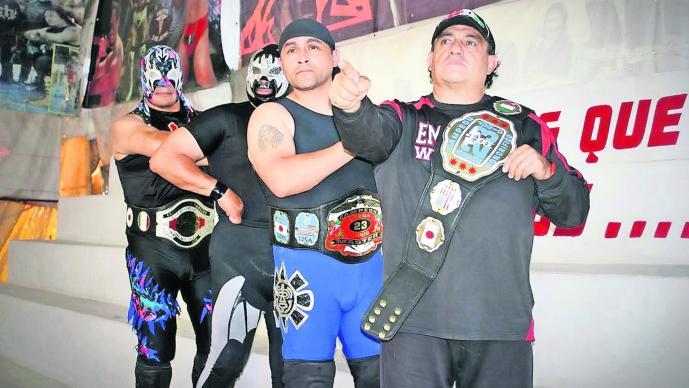 Aniversario arena Coliseo Fiesta de costalazos Lucha Libre