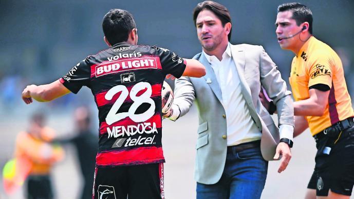 Bruno Marioni Xolos de Tijuana Agresión a jugador Expulsión