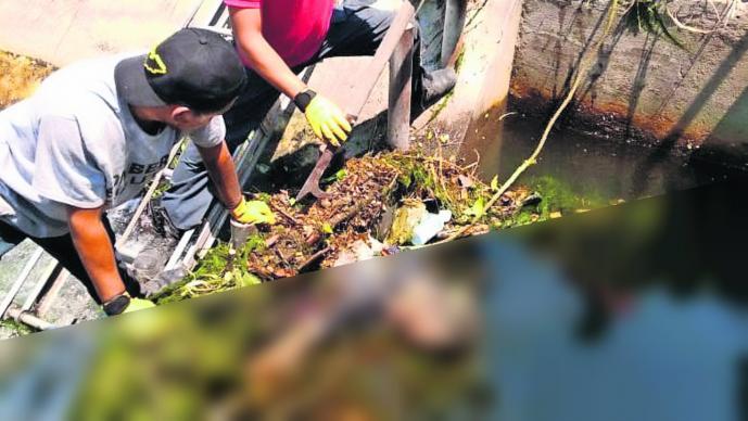 Hallan cadáver Sin identificar Canal Desechos de basura Morelos