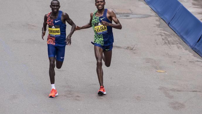 El dramático final del Maratón de Boston del que todos hablan