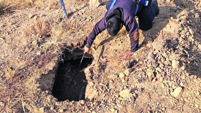 Muere velador Cae a fosa séptica Morelos