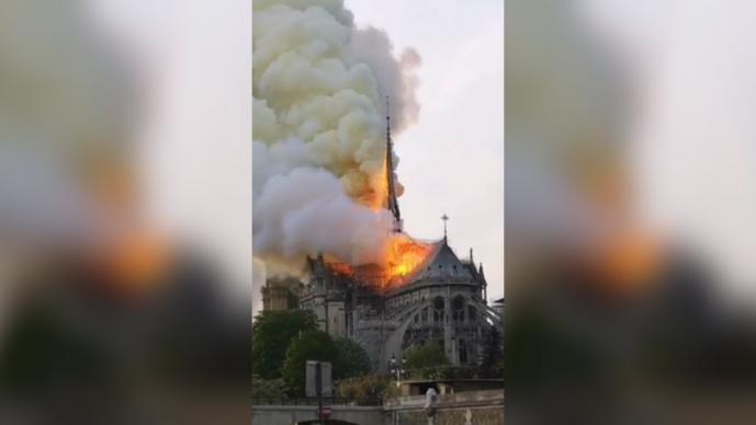 se incendia catedral notre dame paris francia