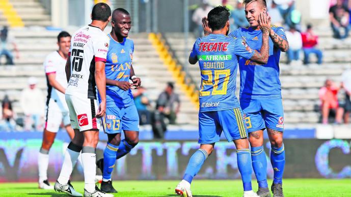 Tigres vs Lobos Clausura 2019 Victoria de Tigres