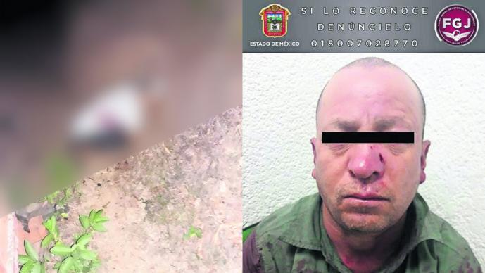 Hombre dispara contra madre Escopetazo Toluca Edoméx Violencia