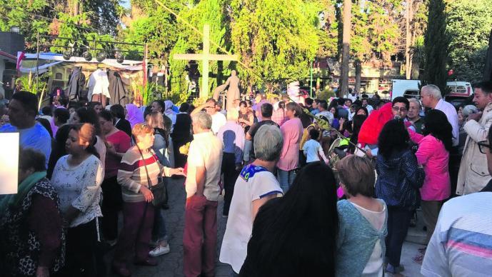 Edoméx Metepec Tradiciones Semana Santa Asistencia Visita a las siete casas