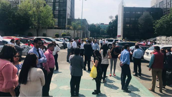 sismo con epicentro en guerrero se siente en la ciudad de méxico