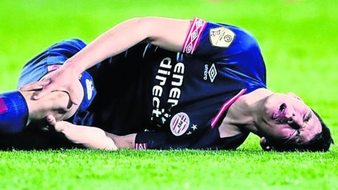 futbol chucky lozano lesionado psv
